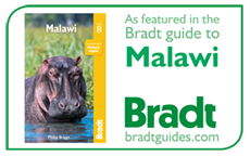 As featured in the Bradt guideto Malawi. bradtguides.com